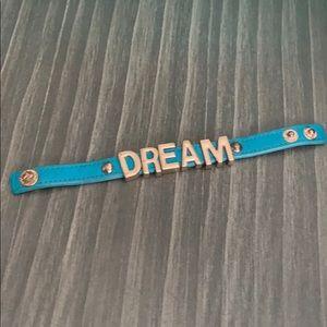 BCBG Blue Turquoise Bracelet Rose Gold DREAM